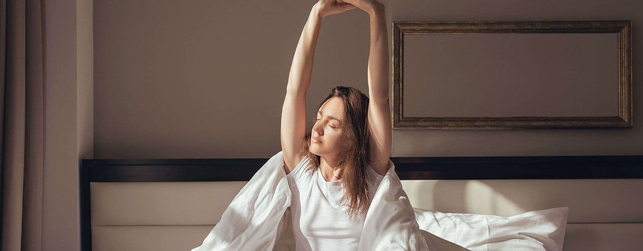 Do You Wake Up Feeling Achy? Try These 3 Stretches First Thing in the Morning.